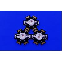 China 3w RGB High Power LED Light Emitting Diode With Star PCB and led optical lens on sale