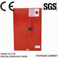 Iron Free Standing Lockable Chemical Storage Cabinets , Flammable Storage Locker