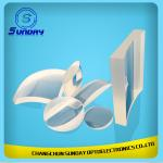 2mm to 500mm Achromatic Cylindrical Lens Optical Lens BK7k9 Sapphire Fused Silica(JGS1) Caf2 ZnSe Si Ge Made in China