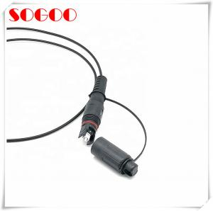 China 10 - 100m Length CPRI Fiber Cable FTTA Patch Cord Compatible With Optitap Conector on sale