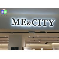 Shopping Mall LED Backlit Sign Box LED Channel Letter Signs Display 4 CM Thick