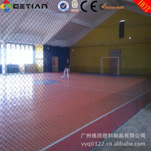 China Unique Comfortable Indoor Soccer Flooring , Interlocking Sports Flooring on sale