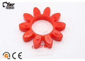 China Original Natural Rubber Red Color Jaw Spider Coupling Size 224*113*38 on sale