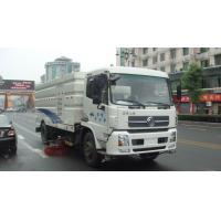 Dongfeng 16ton Outdoor Truck Mounted Vacuum Street Sweeper 4cbm 5cbm 6000 liters 7cbm 7000 liters road sweeping truck