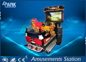 China Funny 3D Dynamic Car Arcade Racing Game Machine For Amusement Park on sale