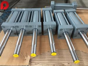 China Corrosion Resistance Tie Rod Hydraulic Cylinder / Dual Action Hydraulic Cylinder on sale