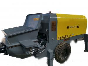 China Buildings Truck Mounted Concrete Pump , Ultra High Pressure Concrete Pump on sale