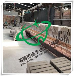 China Firebrick High-Alumina Refractory Brick Shaped Alumina Brick Customization Manufacturers on sale