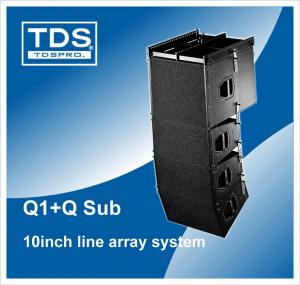 "China d&b pro audio 2-way 2×10"" line array system (Q1+Q Sub) on sale"