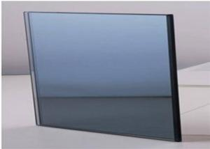 China Shape Customized Dark Grey Tinted Glass , Tinted Plate Glass?For Windows / Doors on sale