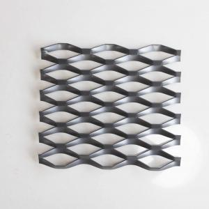 China Powder Coating Carbon Steel Expanded Wire Mesh on sale
