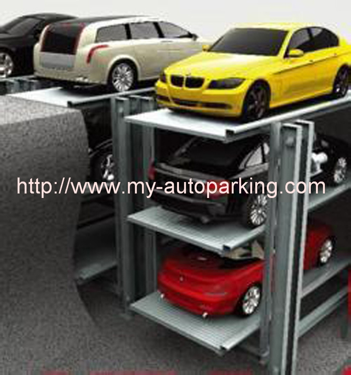 China Multi Level Underground Ce Hydraulic Pit Parking Lift For Sale