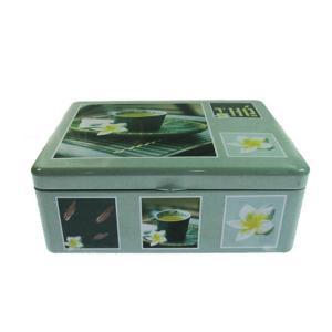 Quality Square Tea Tin Box Tea Storage Tins Vintage Tea Tins Tinplate Pack Metal Box Tea ...  sc 1 st  Round Tin Box - Everychina & Square Tea Tin Box Tea Storage Tins Vintage Tea Tins Tinplate Pack ...