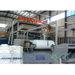 China Customized SXS PP Spunbond Non Woven Fabric Making Machine 10-450m/min on sale