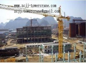 China TC5015 Hammerhead Tower Crane on sale