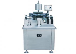 China Polylaminate / PVC Capsules Wine Bottle Capping Machine / Equipment High Efficiency on sale