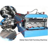 PLC Control Sheet Metal Roll Forming Machines 8 - 12 m / Min Production Capacity