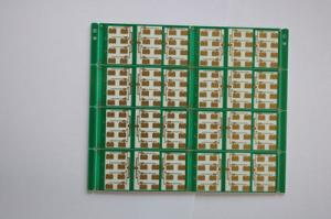 China Laminate Rogers PCB 4350B 2 Layer PCB Substrate High Frequency Printed PCB Board on sale