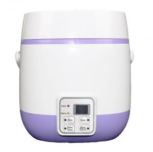 China Cylinder Mini Electric Rice Cooker 0.8M Copper Line Dishwasher Safe Quick Steaming on sale