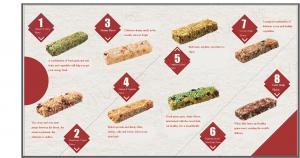 China Soft Taste 100% Natural Health Vegan Energy Bar Protein Energy Bars on sale