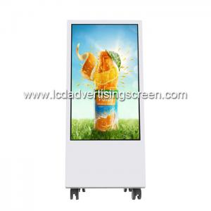 China 32inch Movable Nano Film Touch Screen LCD Display Stand for Retail Shop on sale