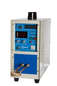 China 15KW Single Phase High Frequency Induction Heating gold melting equipment on sale