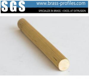 China Brass Extrusion Rod With Customized Sizes Copper Round Bar As Drawings on sale
