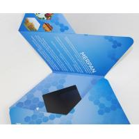 7 inch TFT Flip Book Video for Advertising , video booklet with 2G memory