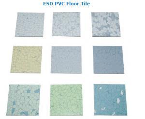 China ESD PVC Floor Tile on sale