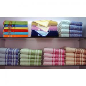 China 100% cotton jacquard brazilian cotton towels on sale
