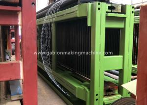 China Gabion Making Machine , High Speed Galvanized Wire Machine For Oil / Construction on sale