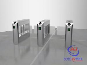China Dual-core Movement / Passage Indicator Swing Turnstile Gate Under IC / ID Card , Ticket System Control on sale