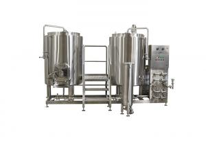 China Mirror Polish 220V Small Scale Beer Brewing Equipment Electric Heating For Hotel on sale