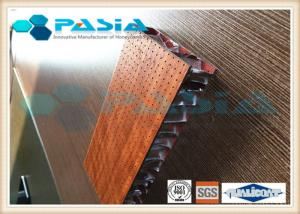 China HPL Attached Honeycomb Curtain Panels , Lightweight Furniture Panels Anti Bacterial on sale