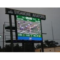 110v / 220v Outdoor Full Color LED Display Screen P10 Weatherproof For Stadium / Square