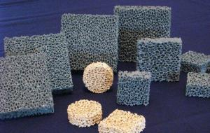 China Efficient Silicon Carbide Alumina Ceramic Foam Filter For Metal / Casting on sale