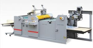 China Automatic Laminator Thermal Film Laminating Machine Big Size With PLC Control Plate on sale