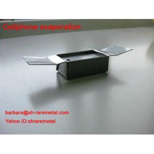 China bateau pur de molybdène d'épaisseur de 0.1mm pour la métallisation de vide de téléphone portable on sale