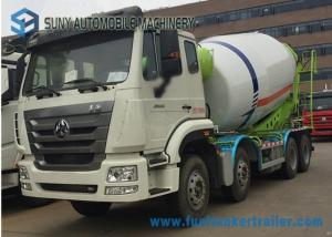 China 8*4 coloful Meter Concrete Mixer Truck 16 Cubic SINO on sale