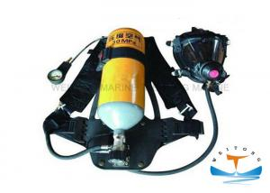 China Firefighter Portable Breathing Apparatus 30 MPa Working Pressure With Steel Cylinder on sale