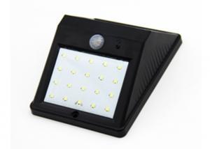 China 140LM Exterior LED Landscape Lighting Solar Led Wall Light Motion Sensor 3.7V on sale