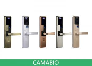 China CAMA-C010 Luxury Biometric Electronic Smart Door Lock For Residential Apartment on sale
