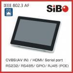 En el Tablet PC de Android de la pared con poder sobre Ethernet para el Smart Home