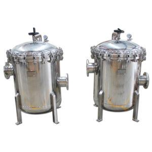 China Virgin coconut oil filter machine/ Stainless steel cartridge filter housing for removing the particles in coconut oil on sale
