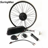High Power Electric Ebike Kit 48v 350w Brushless Gear Motor With 3 Years Warranty