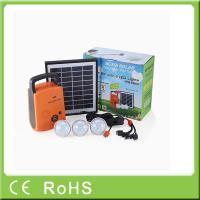 4W 9V lithium portable lighting home energy solar system kit