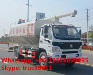 China Factory selling Euro Ⅴ 12.5m3 farm-oriented and livestock poultry feed truck, China manufacturer of poultry feed truck on sale