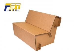 China Lightweight Corrugated Box Furniture Environmental Friendly With Recycling Materials on sale