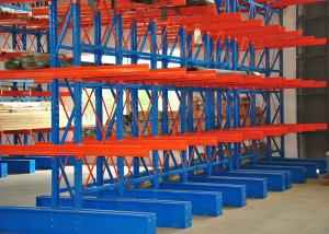 China Cantilever Warehouse Pallet Racking , Adjustable Heavy Duty Cantilever Racking on sale