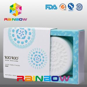 China Paper Box Packaging For Soap Packaging / Customized  Soap Box With Clear Window on sale